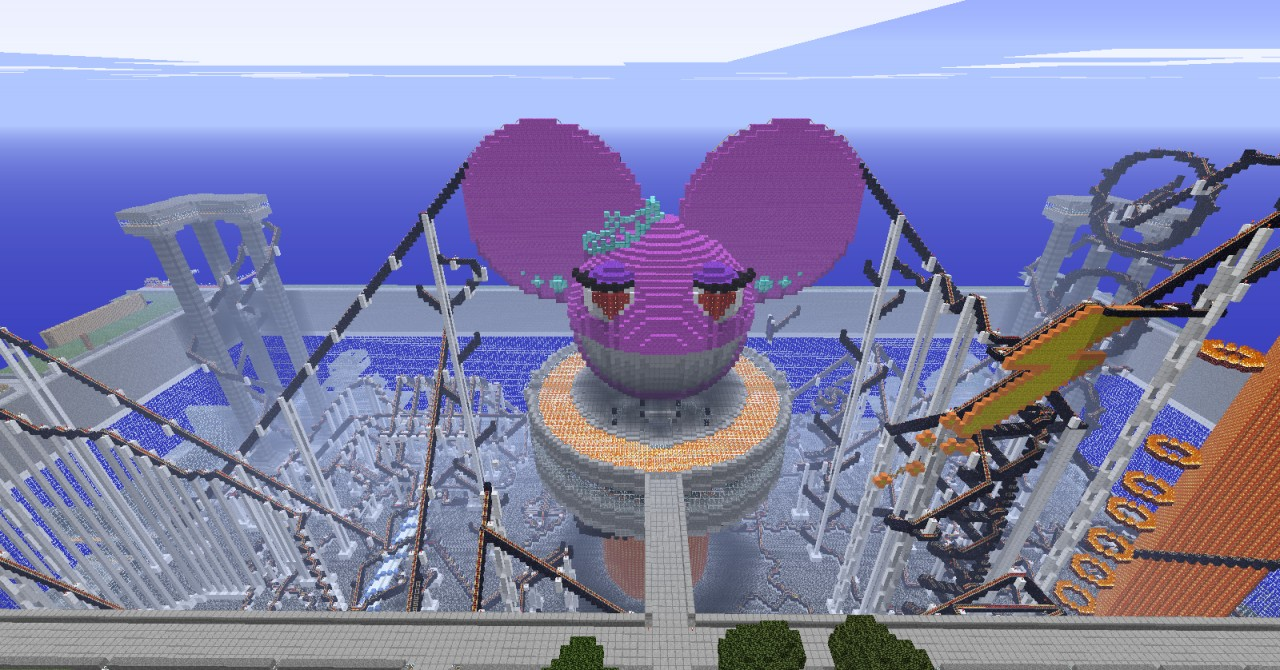 The Ladymau5 Rollercoaster!