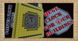 Huge clock for buildings 1.1. [32x32] Minecraft Texture Pack