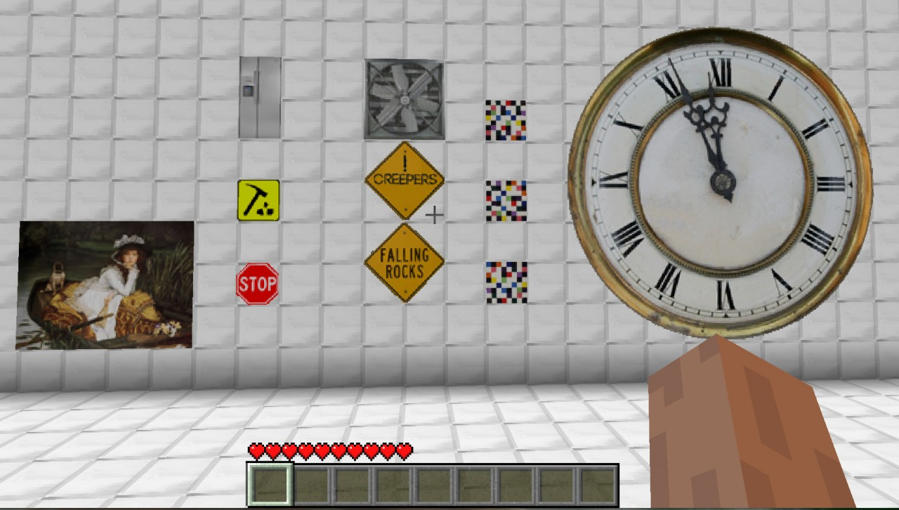 Huge Clock For Buildings 11 32x32 Minecraft Texture Pack