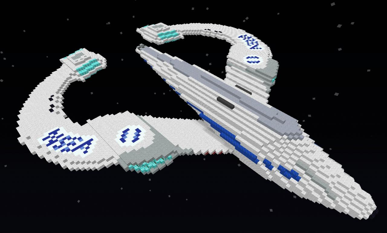 NSEA Protector from Galaxy Quest Minecraft Project