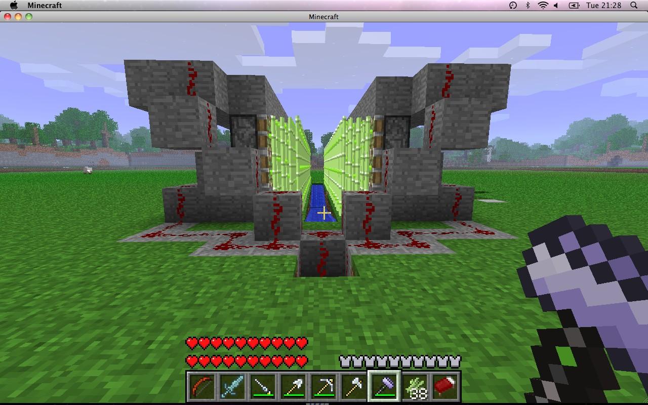 Sugar Cane Farm Minecraft Project