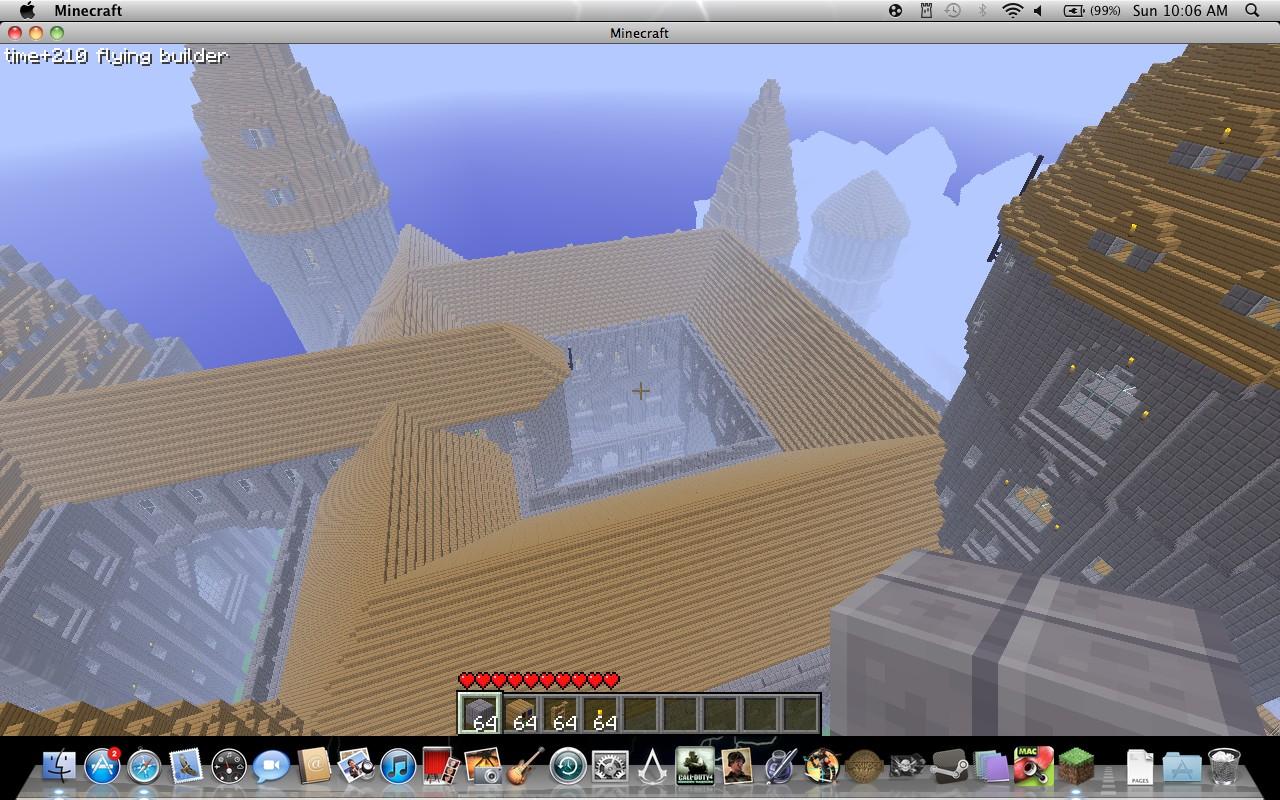 minecraft hogwarts castle blueprints project pictures