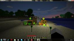 world of green lanter/lantern corps Minecraft Texture Pack
