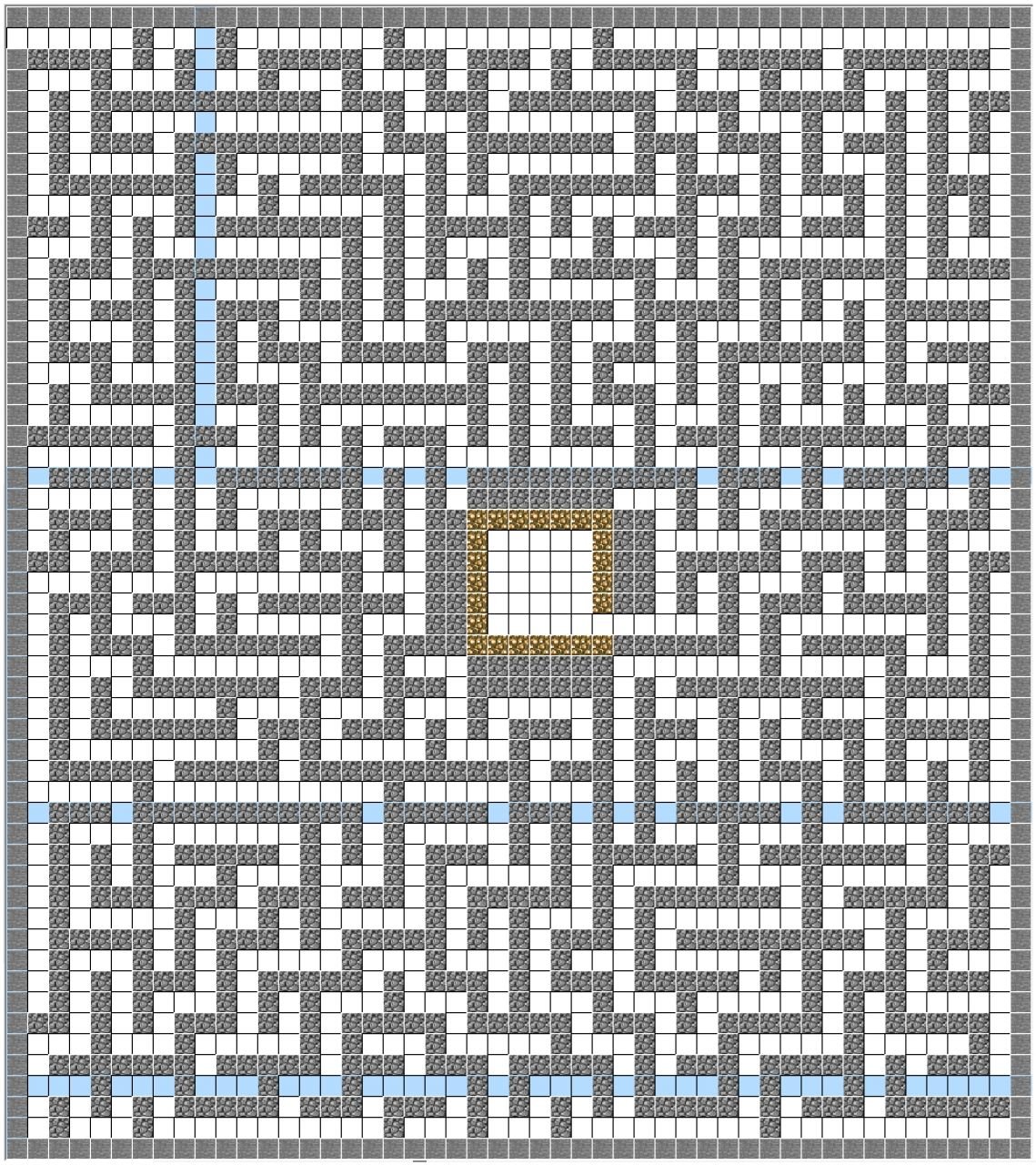 Cobblestone maze minecraft project for Minecraft blueprint maker free