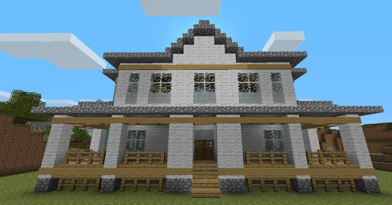 Country home minecraft project for Build country home