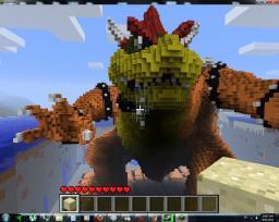 King Bowser Minecraft