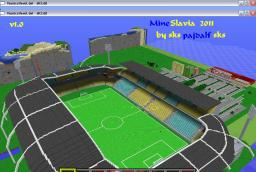 100% complete Stadium SK Mineslavia + world download v1.0 Minecraft Project