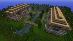 PVP Battle Grounds Minecraft