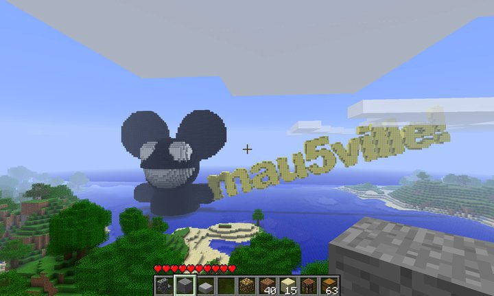 The mau5ville sign! From a mau5ville of old.