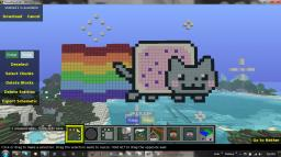 Nyan Cat Minecraft Map & Project