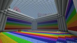 Rainbow city hall! Minecraft Map & Project