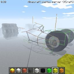 The Tumbler (Batmobile) Minecraft Map & Project