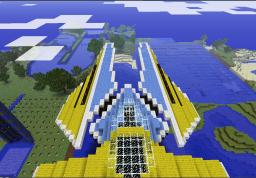 Assegai WipEout Minecraft Map & Project