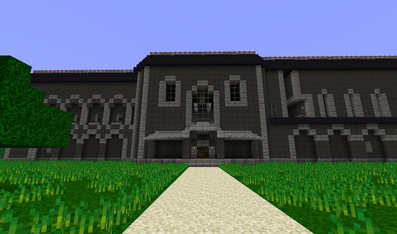 Resident evil mansion