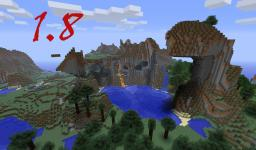 1.8 World save!!! works on 1.7.3 Minecraft Map & Project