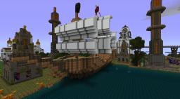 a small port Minecraft Map & Project