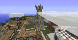 Central Spire of Light Minecraft Map & Project