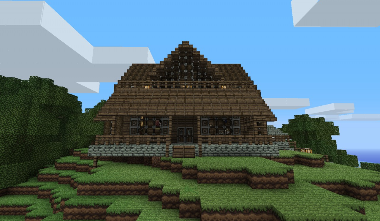 Log Cabin Minecraft Project