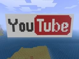 Youtube logo XD Minecraft Map & Project