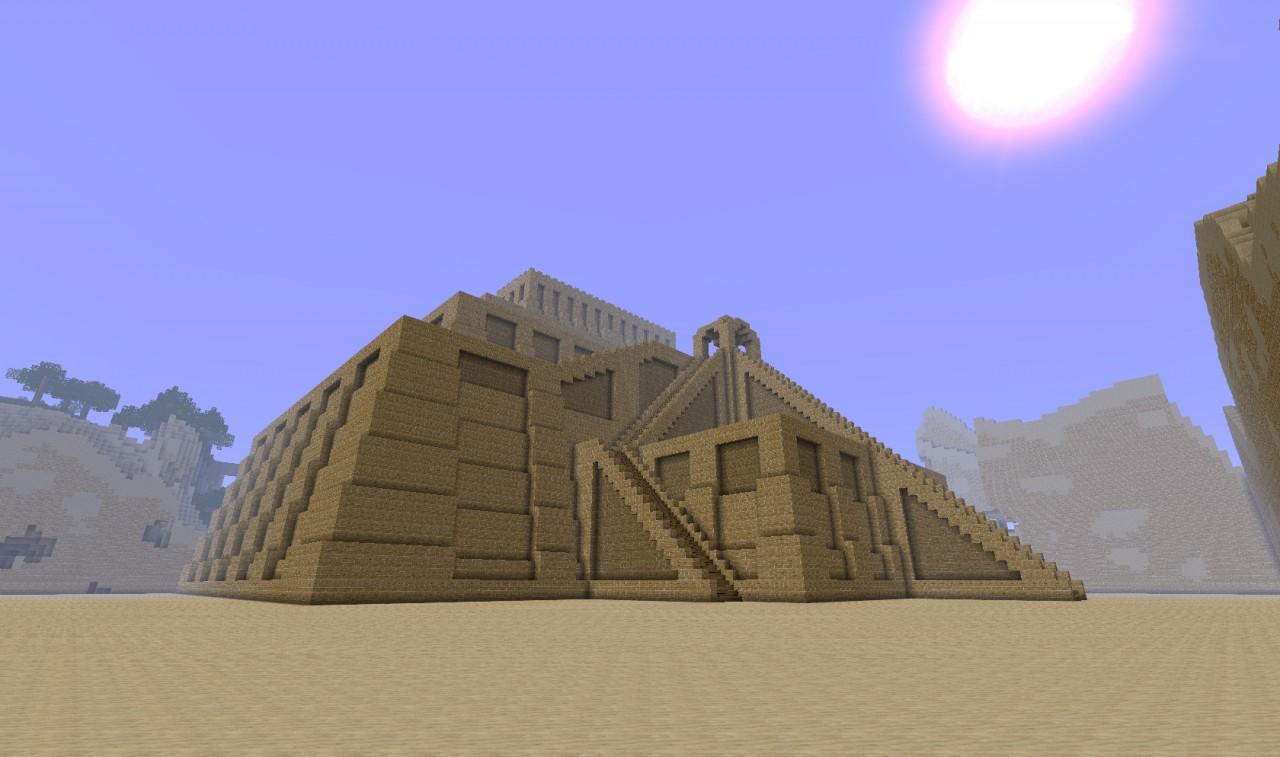 Ziggurat Minecraft Project
