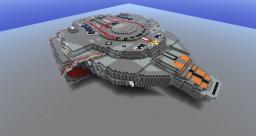 Star Trek U.S.S. San Palo - Explorable Minecraft Map & Project