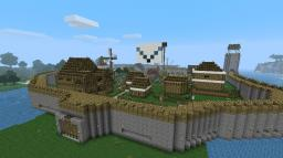 Japanese-Dutch Town Minecraft Map & Project