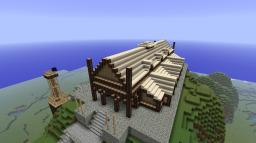 Golden Hall Minecraft Project