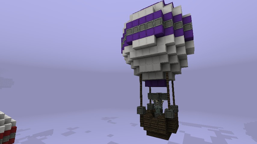 Hot air balloon small minecraft project for How to make a small air balloon