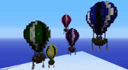 Hot Air Balloons (Adacia Collection) Minecraft Map & Project