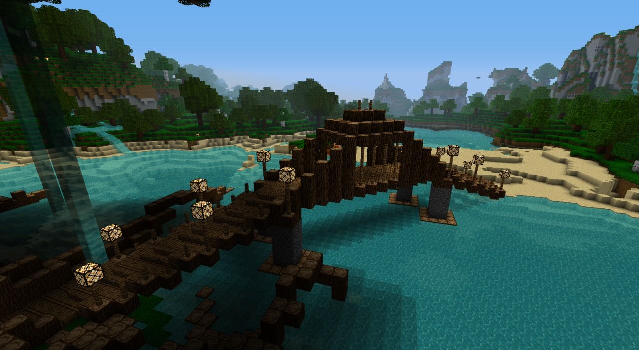 Diagonal Walking Bridge Adacia Collection Minecraft Project