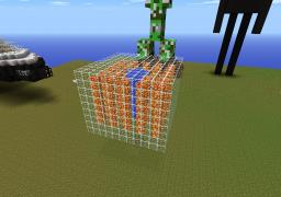 Cool Lava, Water and Glass Cube