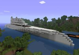 Sigma A inspired 1:1 scale yacht Minecraft Map & Project