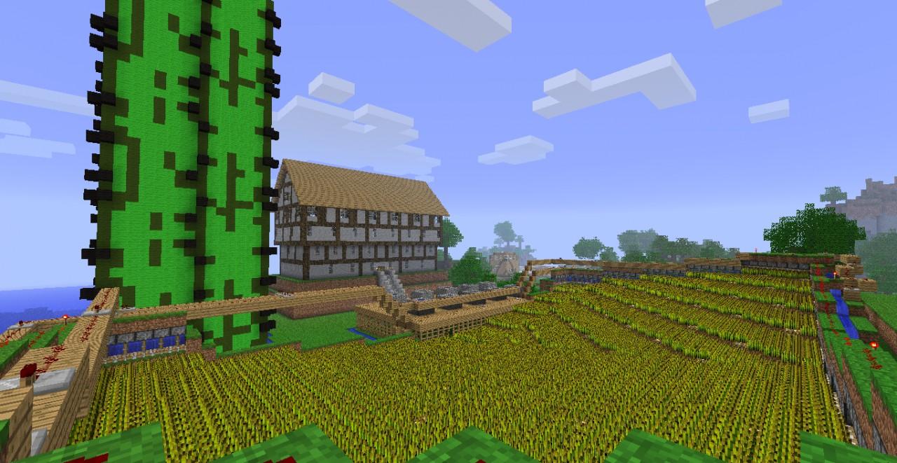 2,400 wheat farm and more. Semi-automatic gathering ...