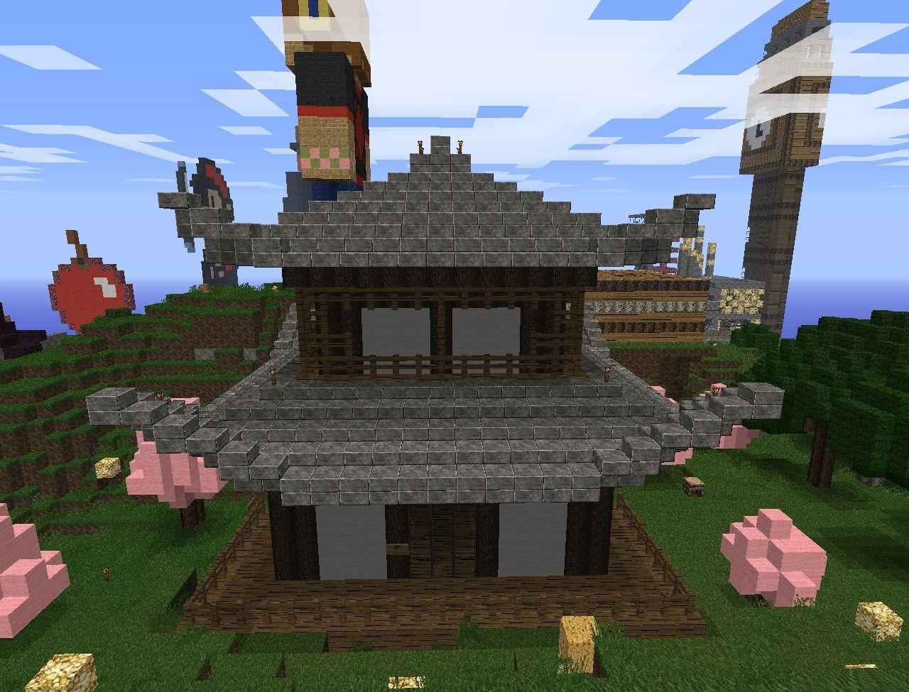 Minecraft Dog House Mansion