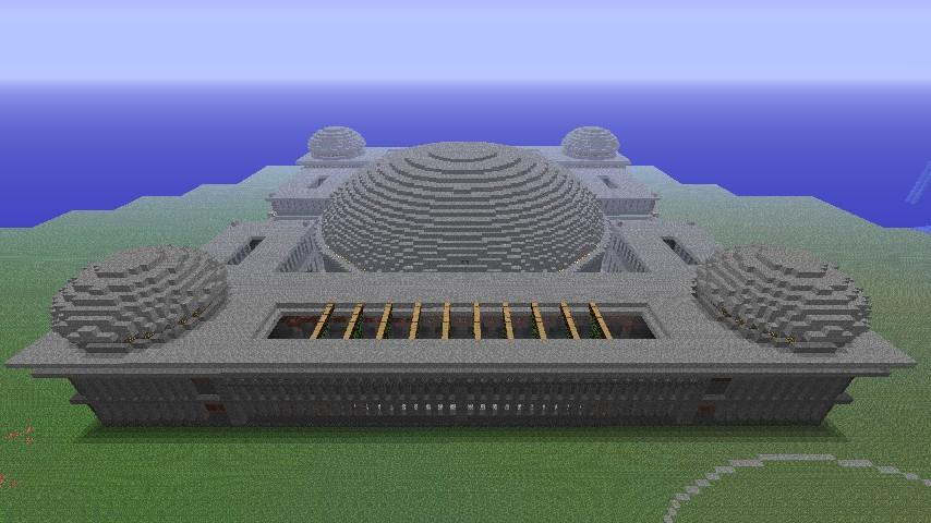 Byzantine arena chamber minecraft project