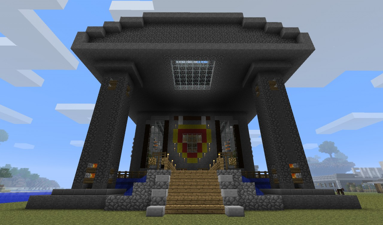 Spawn Building Minecraft Project