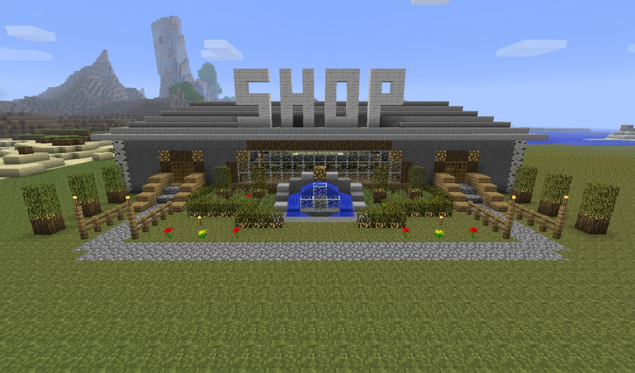 Server Shop Minecraft Project
