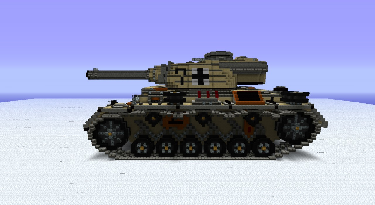 Panzer Iii Wwii Collection Minecraft Project
