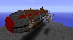 Rebel Gunship Minecraft Project
