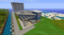 modern hospital Minecraft