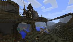 Medieval inspired mountain house Minecraft Map & Project