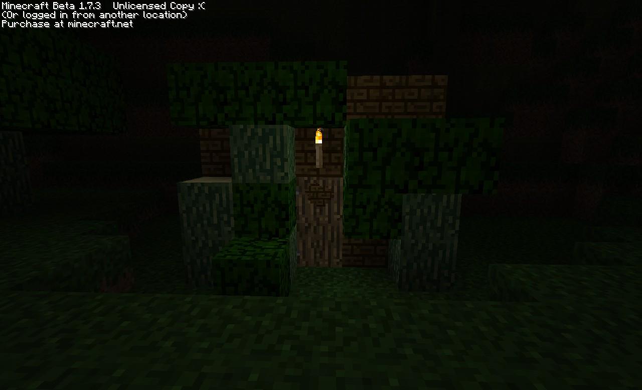planks, doors, trees