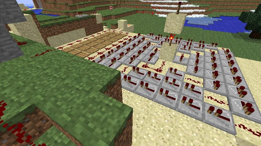 Lots of Redstone ^.^