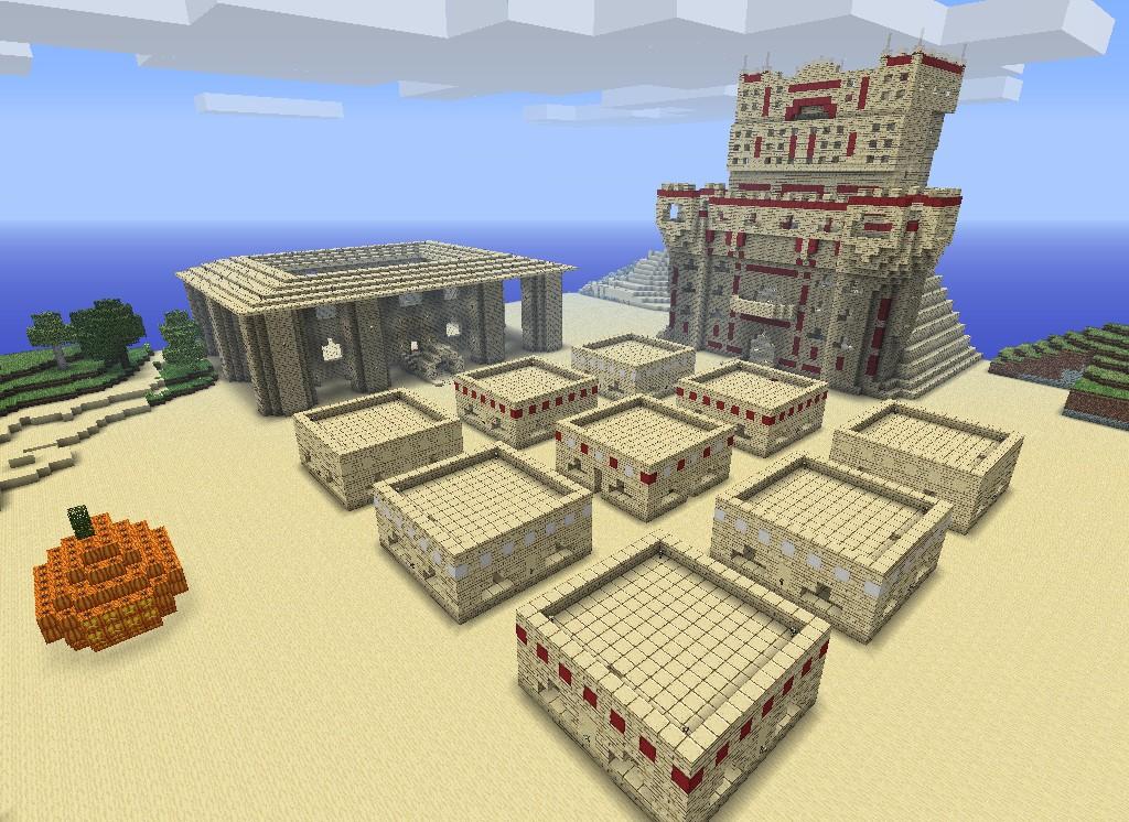 alkoran the sand village minecraft project