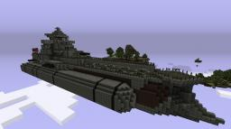 Dauntless Class Missile Cruiser (steampunk airship) Minecraft Map & Project