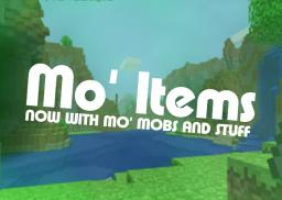 Mo' Items v1.4 Minecraft Mod