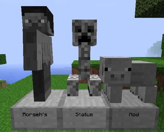 Morgeh's Statue Mod
