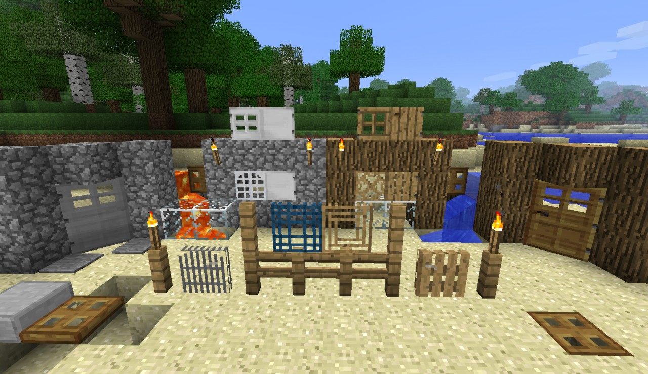 Decoration Building Pack Minecraft Mod