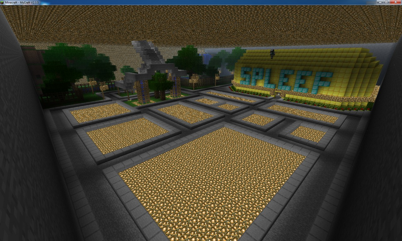 This is the underground. Build shops or what ever in the plots