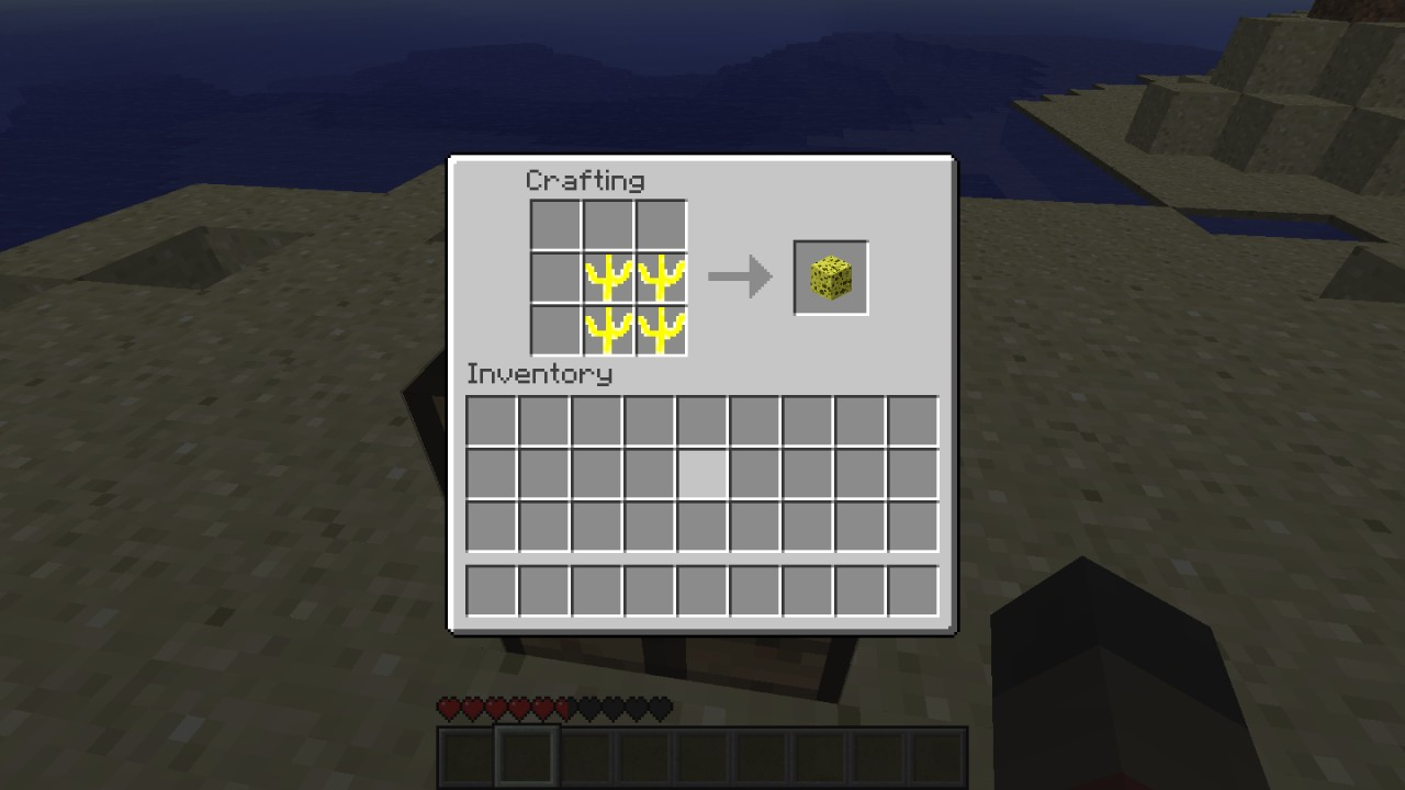 How to Use a Sponge in Minecraft